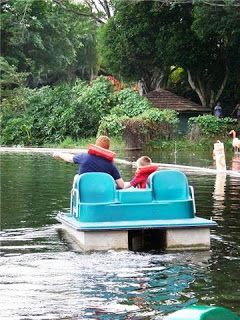 Paddle Boat at Lion Country Safari Photo Credit: Erin Franklin