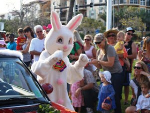 Easter Bunny at Lauderdale by the Sea