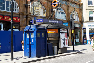 Tardis+in+London