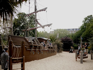 Captain Hooks Ship at Princess Diana Memorial Playground