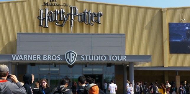 Entrance to WB Harry Potter Studio Tour London