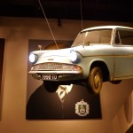 Flying Ford Anglia WB Harry Potter Studio Tour London
