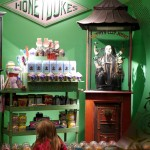 Honey Dukes Window at WB Harry Potter Studio Tour London