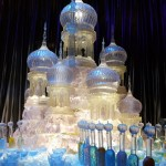 Feast Ice Sculpture WB Harry Potter Studio Tour London
