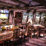 Weasly's Kitchen at WB Harry Potter Studio Tour London
