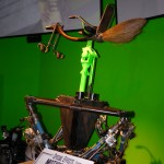 Flying Broom on Green Screen at WB Harry Potter Studio Tour London