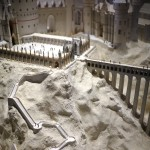 Hogwarts Model at WB Harry Potter Studio Tour London