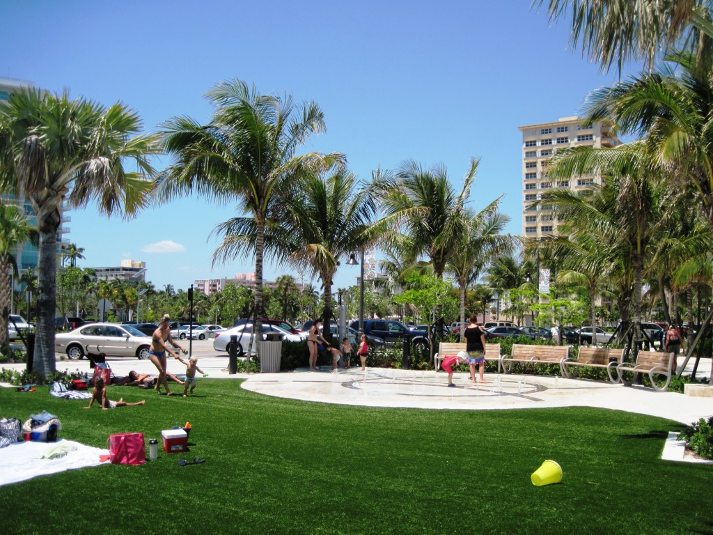 Splash Pad A1A & Atlantic in Pompano Beach