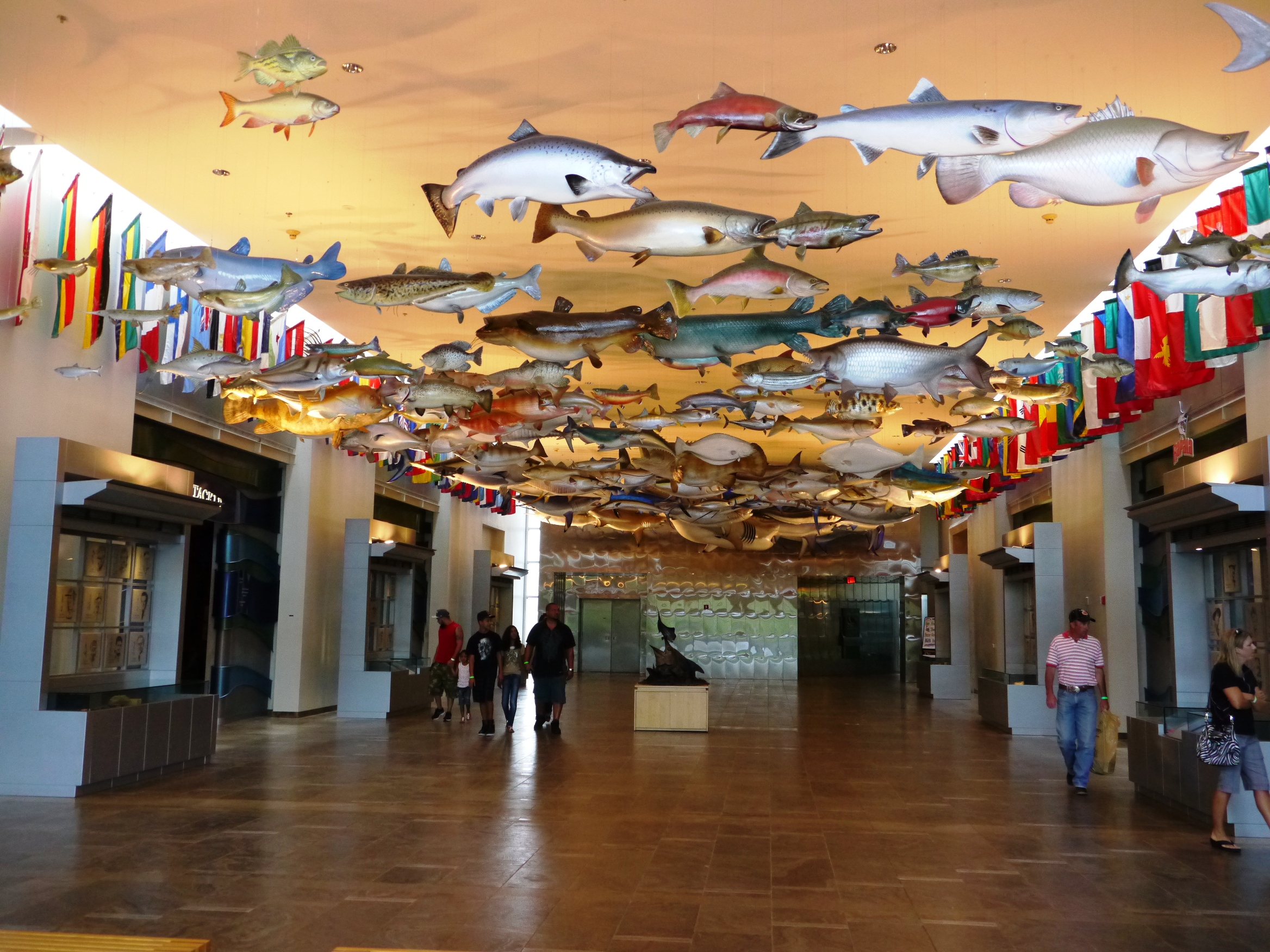 Great Hall at Fishing Hall of Fame in Dania Beach