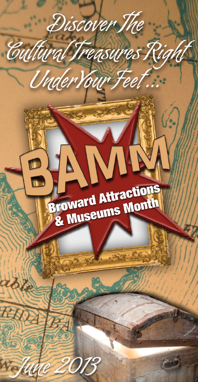 BAMM Broward Attractions and Museums Month Discount