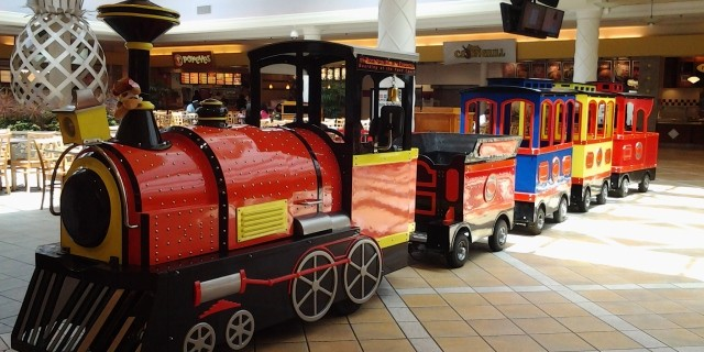 Trackless Train at Boynton Beach Mall