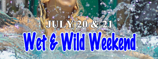 Wet & Wild Weekend at Flamingo Gardens