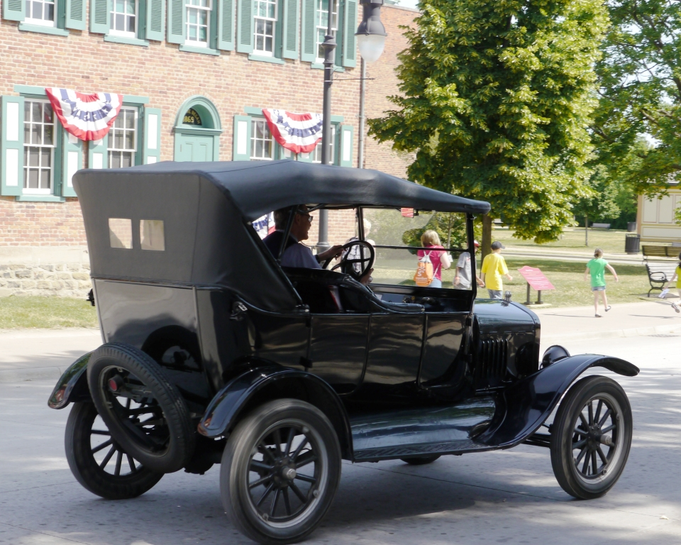 Model T at Greenfield Village, Henry Ford Museum in Dearfield Mi ©KUWK