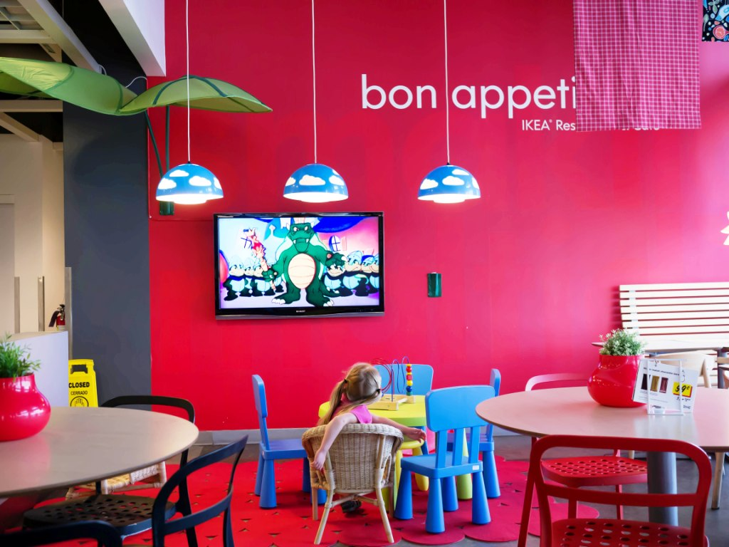 Ikea Dining Room Kids Area