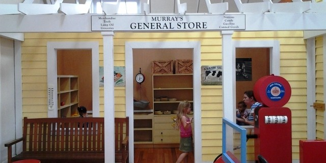 Schoolhouse Museum General Store