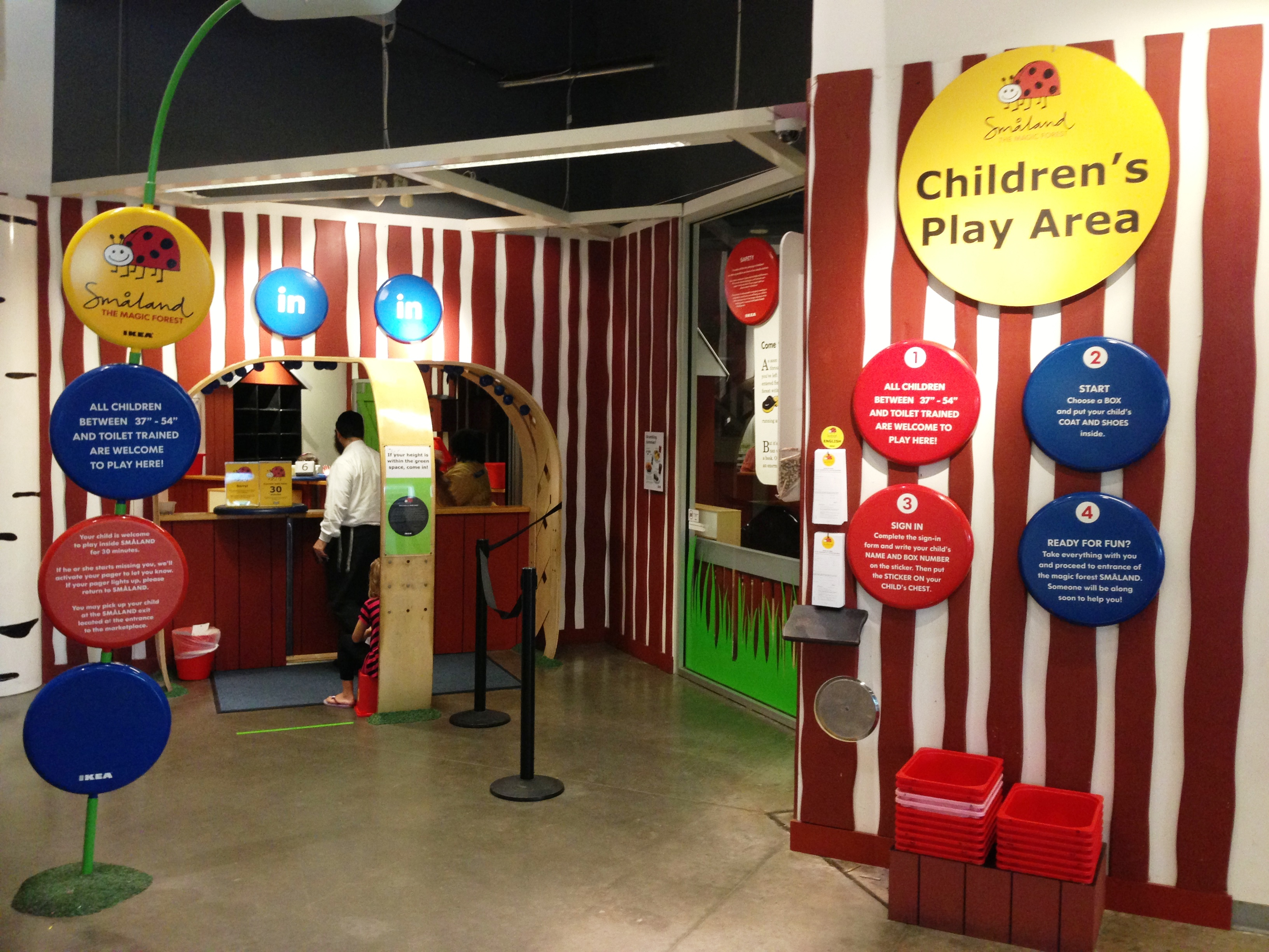 ikea play place and fun for the family sunrise nationwide