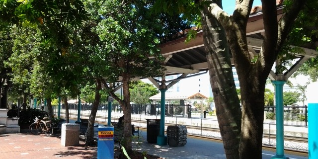 West Palm Beach Tri Rail Station