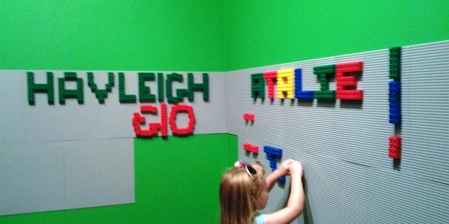 Norton Museum Lego Exhibit Playroom