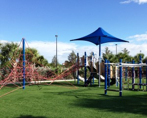 Spanish River Sports Complex Playground in Boca Raton