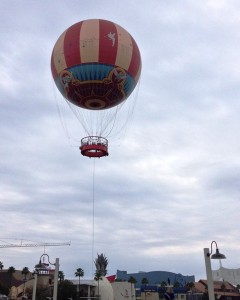 Downtown Disney Balloon Ride