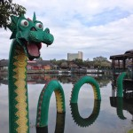 Lego Sculpture Downtown Disney