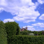 Hatfield House Museum and Gardens near London
