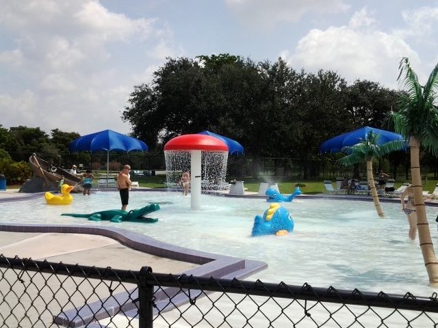 Castaway Island at TY toddler interactive pool