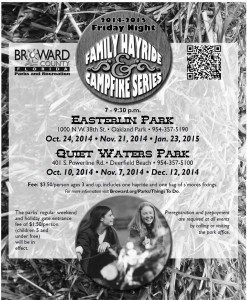 Broward Couty Park Hayrides