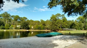 Canoeing at Fort Wilderness Campgrounds at Disney World