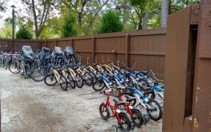 Bikes at Fort Wilderness Campgrounds at Disney World