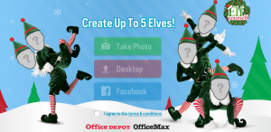 Elf Yourself Home Page