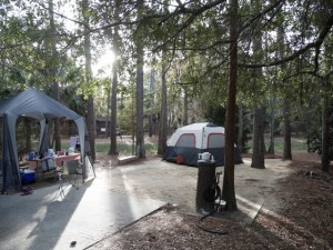 Our Campsite Fort Wilderness Campgrounds at Disney World