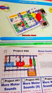 Electronic Snap Circuit Kit diagram by Elenco