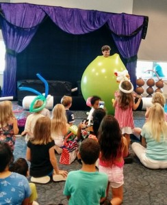Library Balloon Show at Boca Raton Library