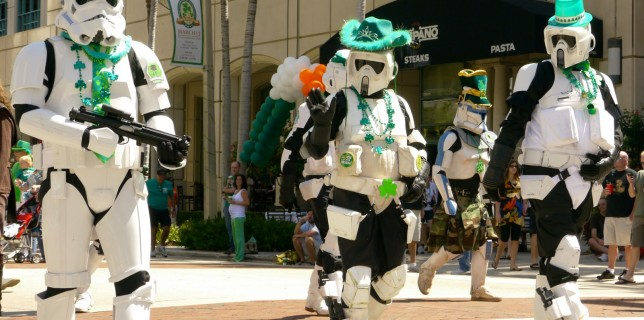 Fort Lauderdale St Patrick's Day 2012