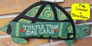 Turtle Town Toddler Daycare Logo