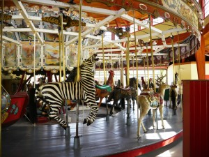 1913 Carousel at Greenfield Village, Henry Ford Museum in Dearfield Mi ©KUWK