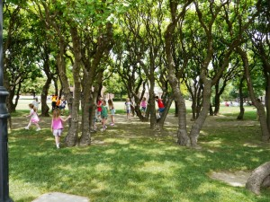 Green Space at Greenfield Village, Henry Ford Museum in Dearfield Mi ©KUWK