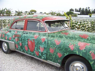 The Girls Strawberry Farm Car